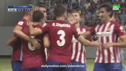 All Goals and Highlights HD   Sagan Tosu 1-1 Atletico Madrid - Friendly 01.08