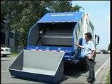 side load garbage trucks,China Side Loading Garbage Truck