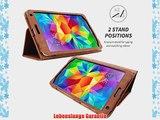 Snugg? Galaxy Tab S 8.4 H?lle (Braun) - Smart Case mit lebenslanger Garantie