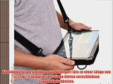 Cooper Cases(TM) Magic Carry Samsung Galaxy Tab 4 10.1 LTE (T535) Tablet Folioh?lle mit Schultergurt