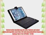 Cooper Cases(TM) Infinite Executive Samsung Galaxy Tab 2 10.1 (P5100 / 5110) Universal Folio-Tastatur