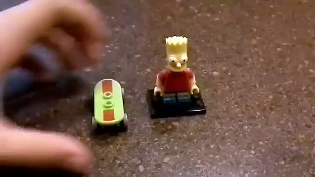 Lego The Simpsons Bart Simpson Blind Bag Mini Figure