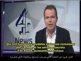 Jonathan Miller, journaliste anglais, parle de la torture en Syrie - sous-titres français