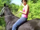 HORSE BACK RIDING WITH MARIA!