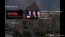 2 Maytime Way Markham ON L6C0N5 - Politis Brienza Team - REMAX All-Stars Realty Inc Brokerage