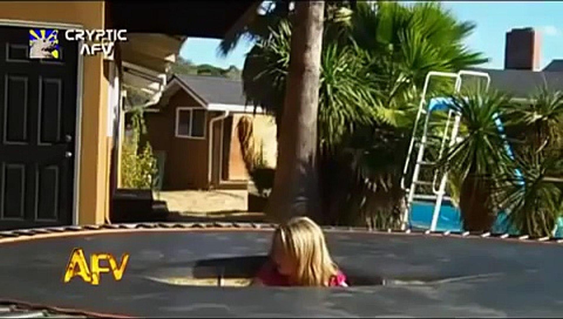 ★ Ultimate Trampoline Fails  - 2014 -   America's Funniest Home Videos