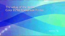 Variable Data and Transactional Print with Xerox 8250 Production Printer