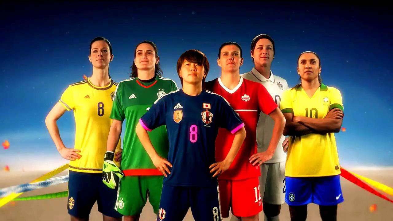 2015 FIFA Women's World Cup Canada Intro