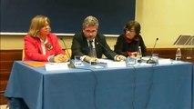 Acte de lliurament del IV premi UPF Emprèn, patrocinat per la Fundació Banc Sabadell