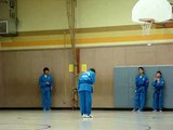 Vovinam - Tứ Trụ Quyền - Alexander and Christopher are practicing - Việt Võ Đạo Form