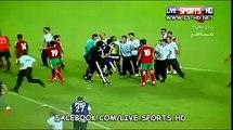 عاجل منذ قليل :o : عركة بين الأمن التونسي ولاعبي المغرب بعض نهاية المباراة :o فضيحة
