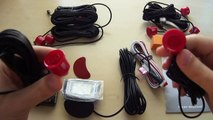 Parking Sensors System with 8 sensors (4 front + 4 rear) from China review