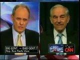 RON PAUL ON CNN CAFFERTY FEBRUARY 2010 THE US GOVT'S DEBT CANT BE REPAID