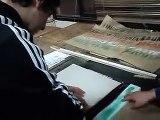 Pintando lienzos y carteles en los talleres de Arquitectura UdeC