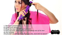 """★ """"MESSY"""" BEACH WAVES CURLS TUTORIAL 