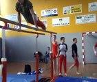 Gym de Thise - Concours à Gray - Barres parallèles