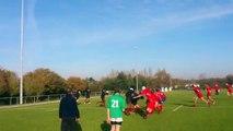 Chavagnes Int.  College Cadets Rugby  vs Ste Marie du Port Les Sables d'Olonne (2)
