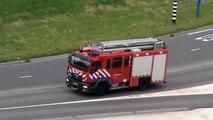TS 33-1 AL 31-1 OD 30-1 DHV en wijk politie Ambulance 17-117 PI de IJssel Krimpen aan den IJssel