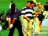 NIKE / GOLF Ad, DRIVING RANGE with TIGER WOODS