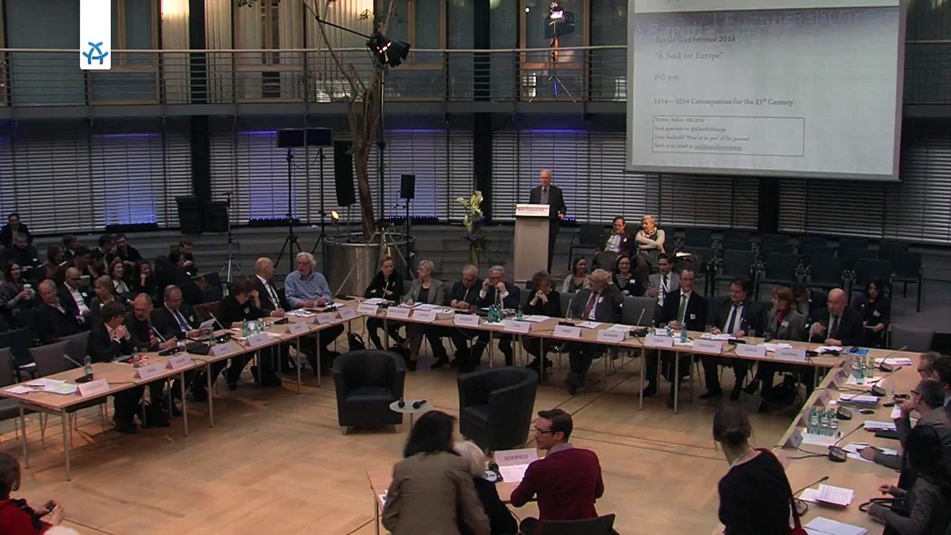 Berlin Conference 2014: Introduction by Volker Hassemer (in German)
