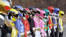 Power Rangers New Vrak is Back Samurai Rangers And Megaforce Rangers