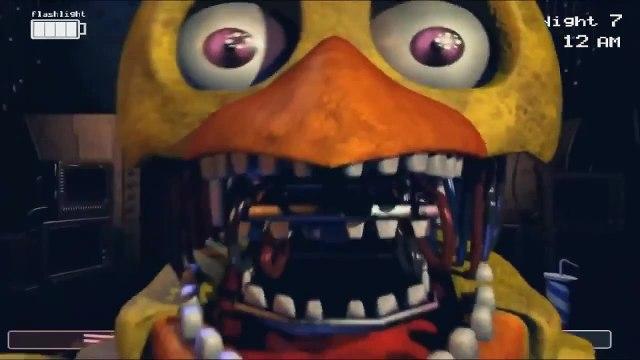 Five Nights at Freddy's 4 All Jumpscares (FNAF 4) - esptube