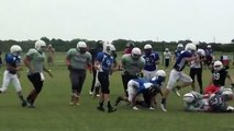 Offense Defense Camp Middle School Game Dallas TX 2015