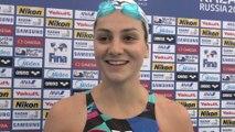 Natation - ChM (F) - 100m papillon : Gastaldello «On apprend de ses erreurs»