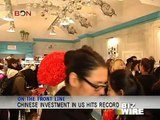 Chinese investment in US hits record - Biz Wire - January 02,2013 - BONTV