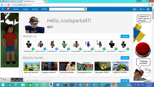 Roblox.comhome How To Redeem A Promocode Roblox Tips Video Dailymotion