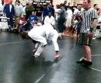 Naga Georgia, Tai Otoshi,Jujitsu,Judo 11/3/07 Better Quality