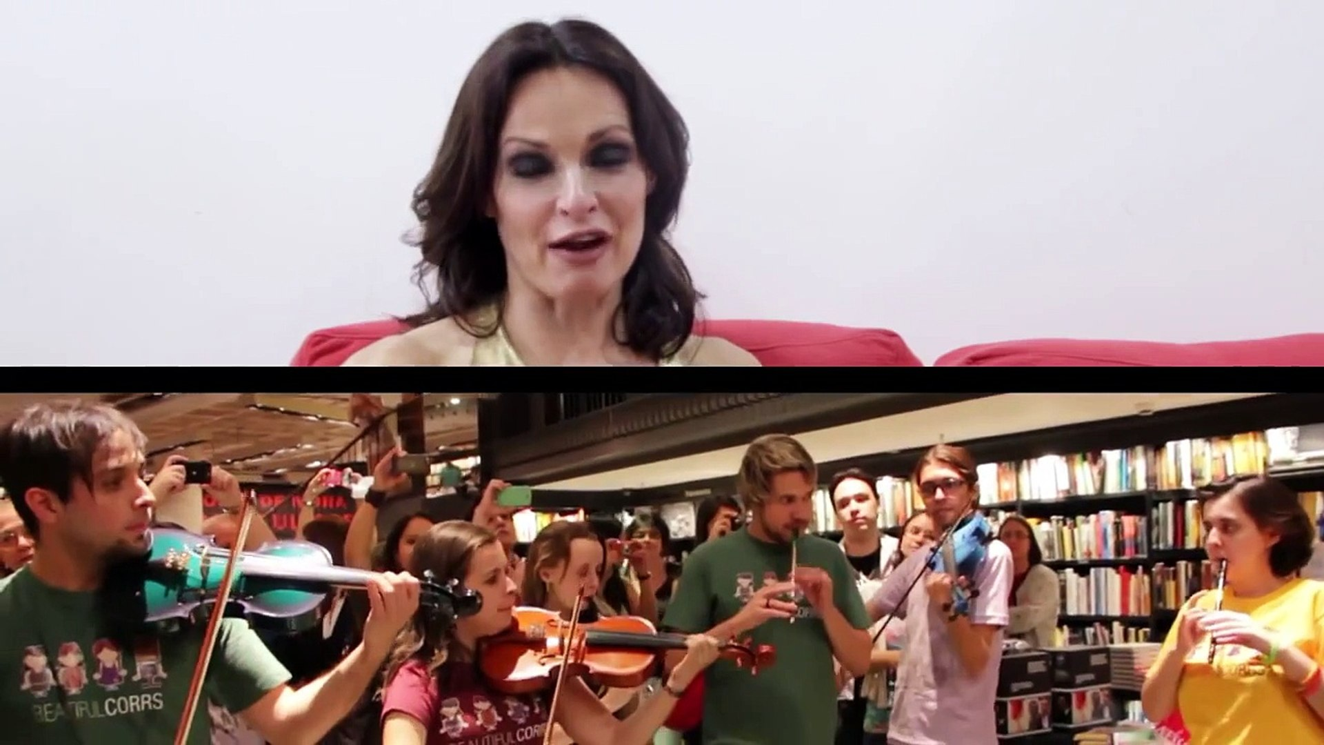 Full Circle, the documentary EXTRAS: Sharon Corr interview
