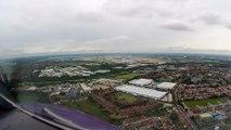 A330-300 Landing at London Heathrow Airport (EGLL, United Kingdom).