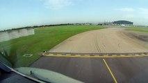 A340-500 Takeoff from London Heathrow Airport (EGLL, United Kingdom).