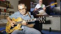 Moonlight Serenade - 2 Alone - Gibson ES 175 archtop guitar plugged - Fender Jazz Bass Fretless