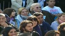 20 de JUL. Inauguración Maternidad Estela de Carlotto en Moreno. Cristina Fernández