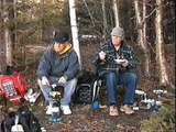 Camping at Lake Kiamika/Camping au lac Kiamika