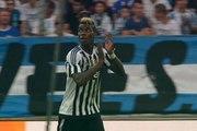 L'ovation du stade Vélodrome à Paul Pogba