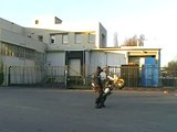 Stunt dirt bike 125