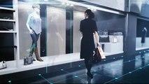 Vitrine interactive en réalité augmentée - Essayage virtuel