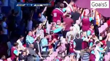 Diafra Sakho Goal West Ham United 1 - 0 Werder Bremen Friendly Match 2-8-2015