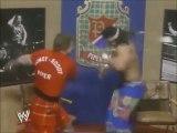 Former WWE fighter Roddy Piper broke entire TV set!! RIP Roddy Piper