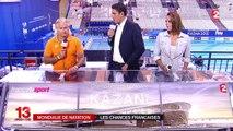 Mondiaux de natation : les Français, en route pour la finale du 4x100 mètres