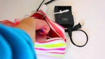 SPRING BREAK! What's in My Travel Bag + Beach Essentials 2015! (Roadtrip Edition) ♡