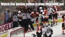 NHL Pittsburgh Penguins vs. Philadelphia Flyers Fight 2 Oct 8 2009
