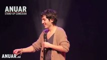 """ANUAR - """"VROUW PLAT UTRECHTS ACCENT IN WACHTKAMER"""" - ANUAR STAND-UP SHOWS"""