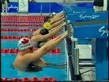 2000   Australia Olympic Silver   Mens 4x100 Medley Relay   Welsh Harrison Huegill Klim