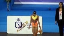 Sonia Aparicio con el Club Cronos en Campeonato de España de Gimnasia Ritmica Granada 2014