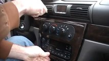 2004 Ford F150 Truck Instrument Cluster Removal Procedure by