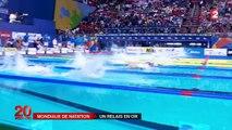Mondiaux de natation : la France en or sur le relais 4x100 m